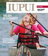 Fall 2011 IUPUI Magazine cover