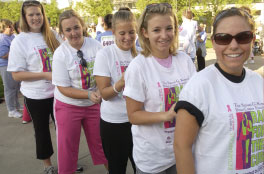 Race for the Cure at IUPUI