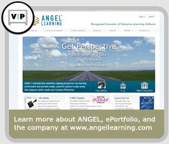 Learn more about ANGEL, ePortfolio, and the company at www.angellearning.com