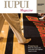 Summer 2008 IUPUI Magazine cover
