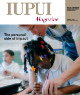 Summer 2009 IUPUI Magazine cover